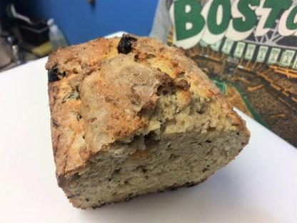 Some freshly baked Grandma Walsh's Irish bread. (Photo by Scott Burton/KTOO)