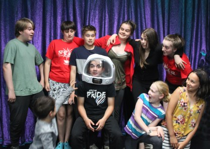 Cast of Perseverance Theater STAR Program's Pericles (photo courtesy of Julie Y. Coppens/Perseverance Theater)