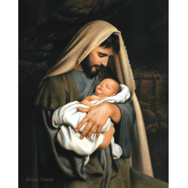 In The Arms Of Joseph Print in Jesus Christ