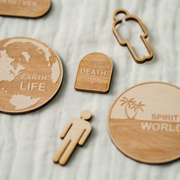Wooden Plan of Salvation Teaching Kit