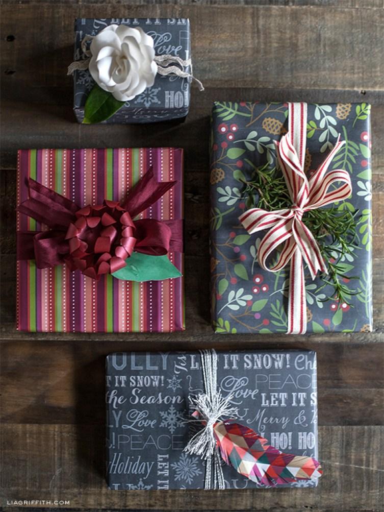 Chalkboard Gift Wrap Printable