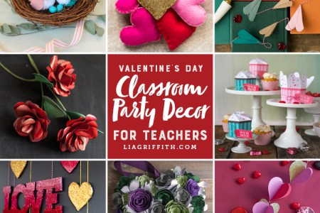 15 Easy Classroom Valentine s Day Party Decor Ideas