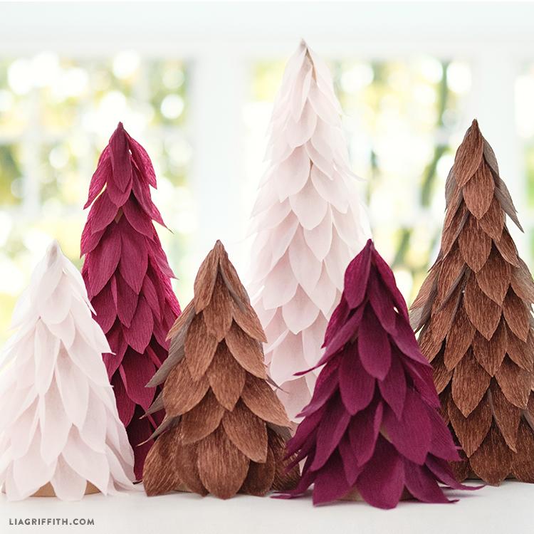 Christmas Crepe Paper Decorations