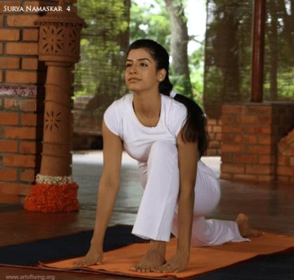 Ashwa Sanchalanasana (Equestrian pose)
