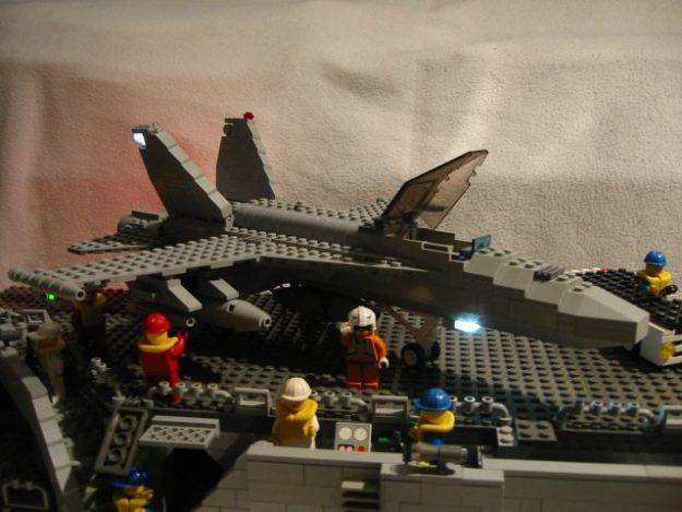 LEGO F/A-18 Hornet