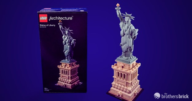 Lego Architecture 21042 Statue Of Liberty Review The Brothers