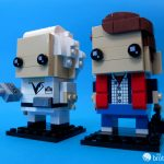 41611 Back To the Future BrickHeadz Doc and Marty Look Left