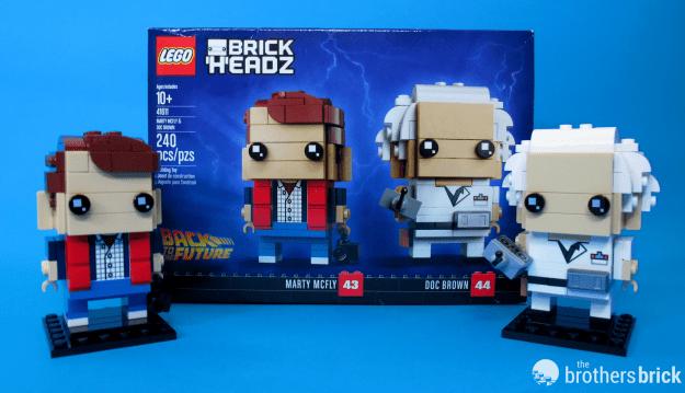 Lego Brickheadz 41611 Marty Mcfly And Doc Emmett Brown