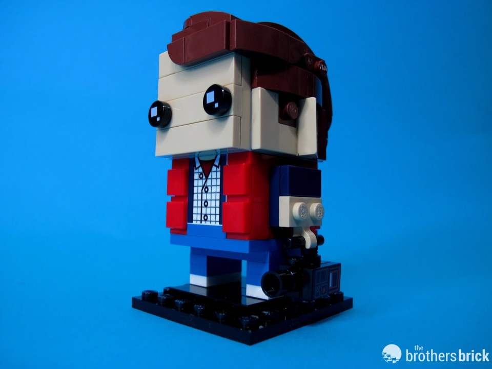 41611 Back To the Future BrickHeadz Marty Dramatic