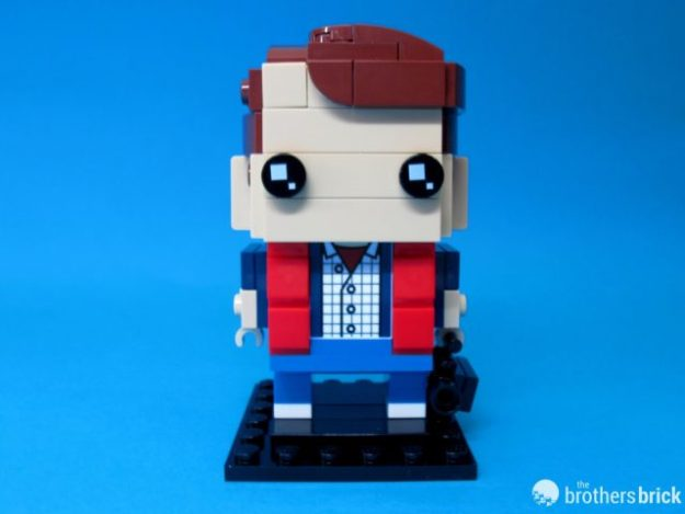 41611 Back To the Future BrickHeadz Marty Facing Front