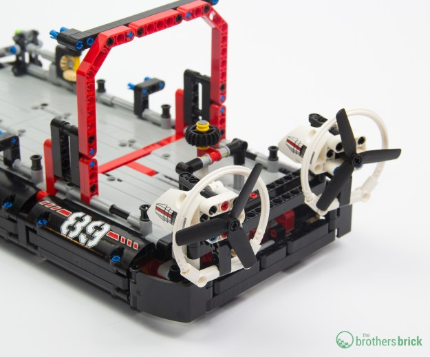 Rear rotors