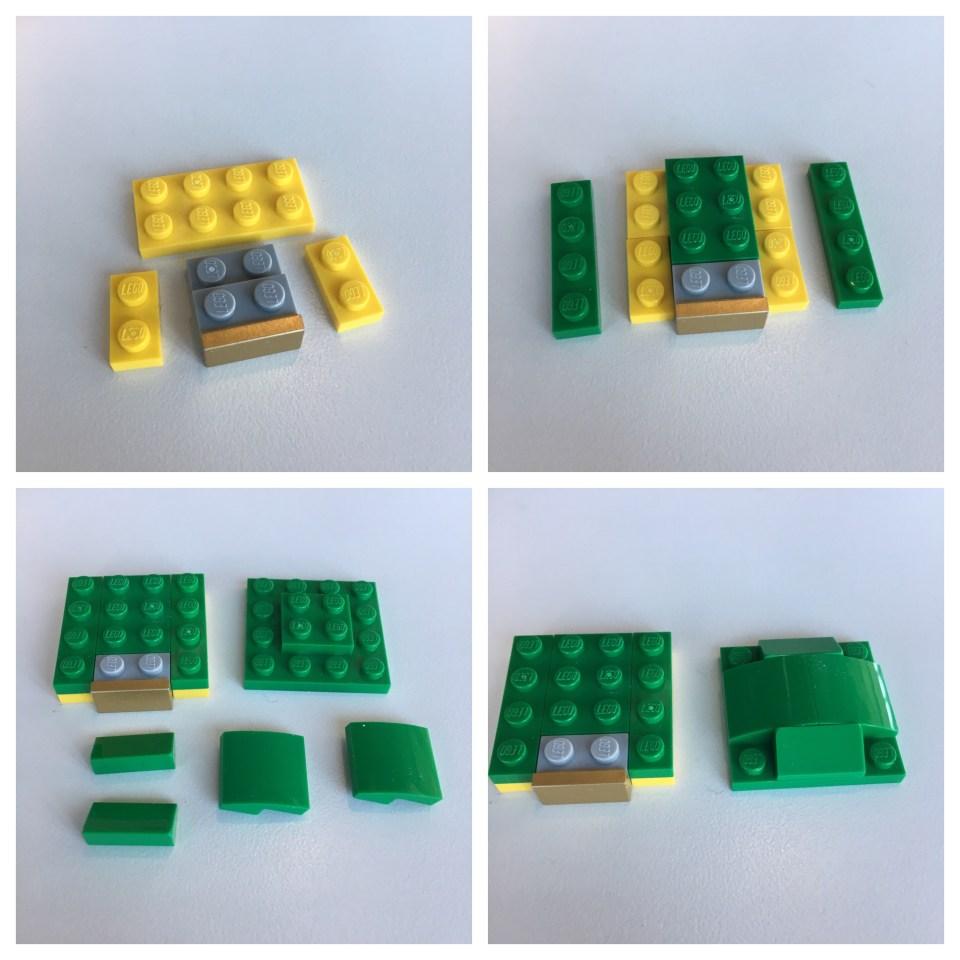 LEGO BrickHeadz Leprechaun instructions - Step 4