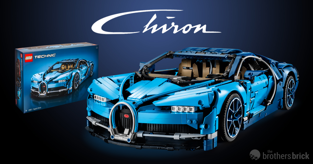 3600 piece lego technic 42083 bugatti chiron unveiled news the brothers brick the brothers. Black Bedroom Furniture Sets. Home Design Ideas
