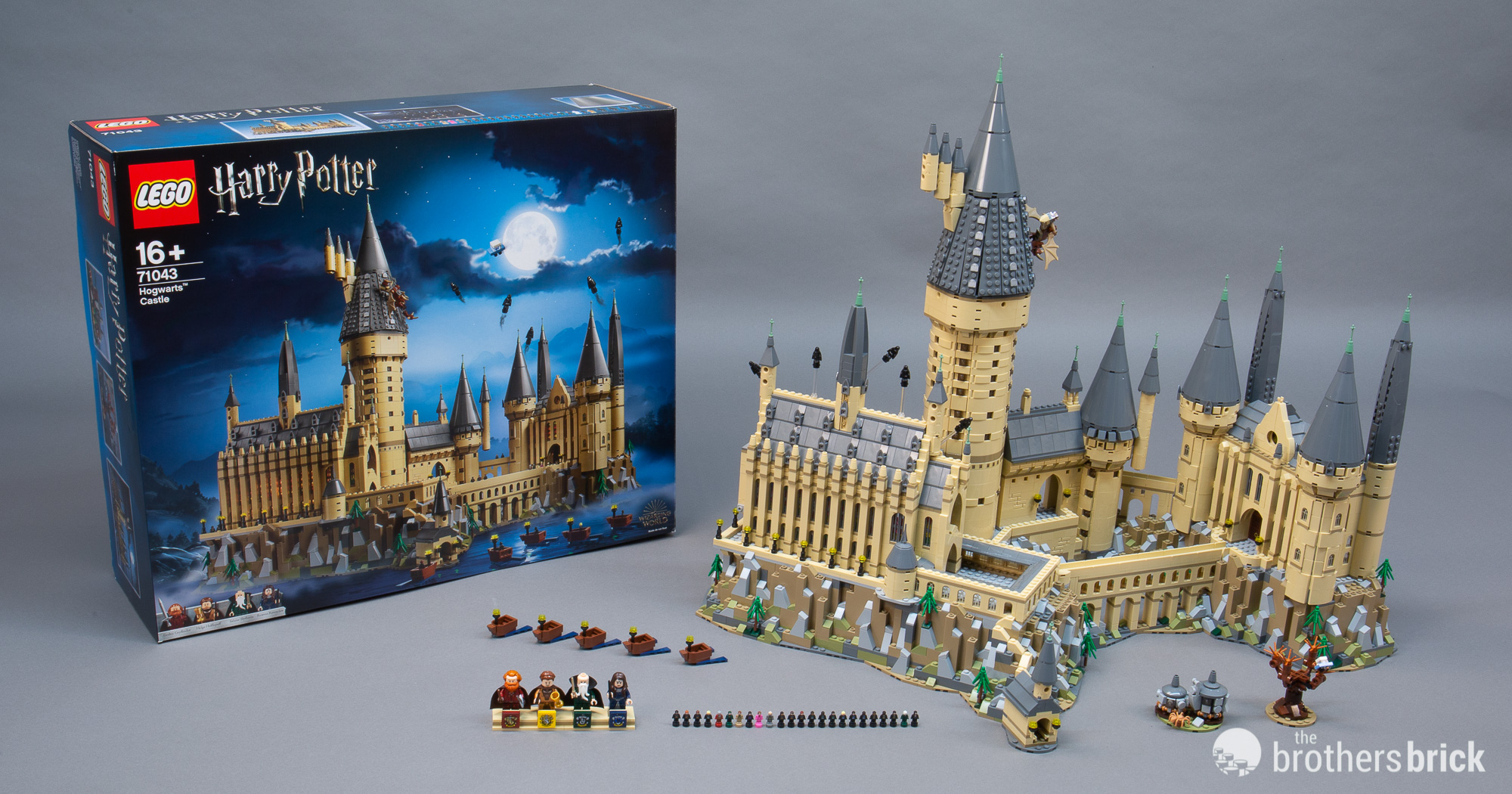 Lego Harry Potter 71043 Hogwarts Castle 1 The Brothers