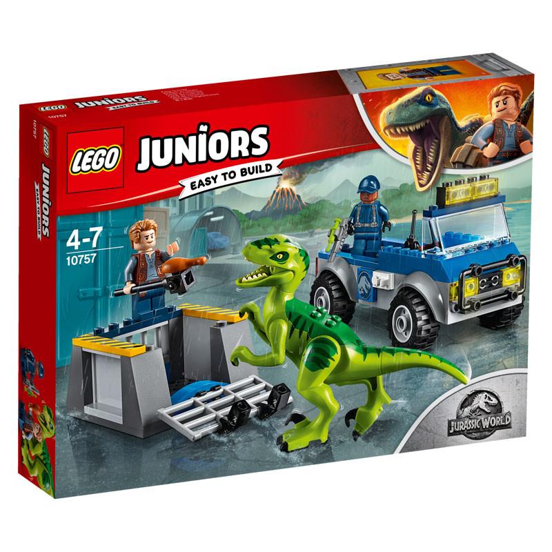 LEGO Jurassic World-10757-Juniors Raptor Rescue Truck-1