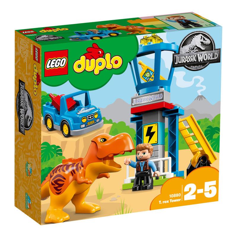 LEGO Jurassic World-10880-Duplo T. rex Tower-1