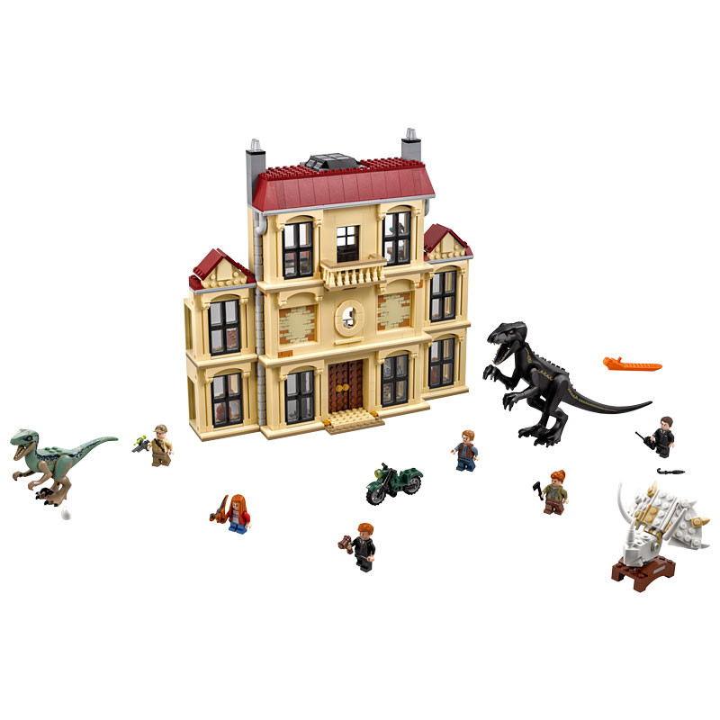 LEGO Jurassic World-75930-Indoraptor Rampage at Lockwood Estate 2
