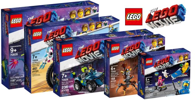 Nineteen new sets revealed from The LEGO Movie 2 [News ...