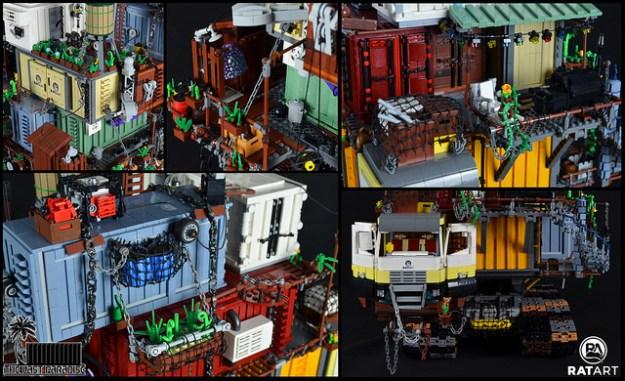 Post Apocalypse LEGO crate house