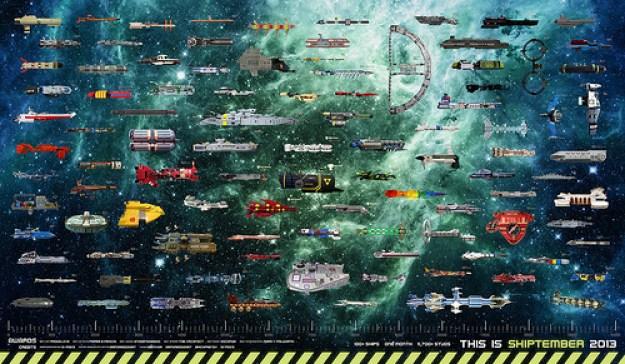 SHIPtember 2013 Poster