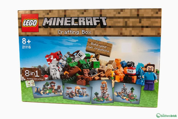 Lego 21116 Minecraft Crafting Box 8 In 1 Review The Brothers