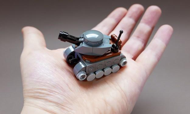 Tiny Tank LEGO MOC