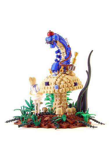 Legohaulic Alice and Hookah