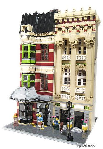 LEGO Cafe Corner buildings
