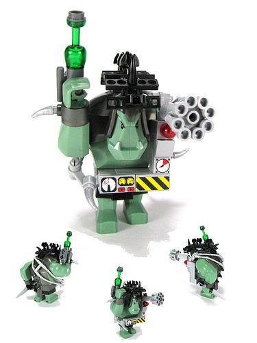 LEGO cybernetic troll