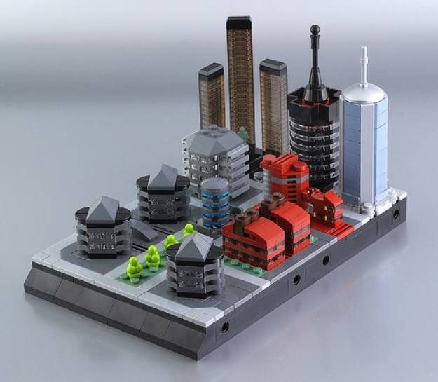 Lego micro city - district n.02
