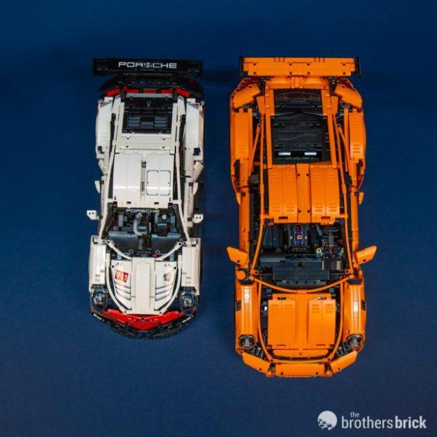 Porsche 911 Engine Weight: 2019's LEGO Technic 42096 Porsche 911 RSR Is 1,500 Pieces