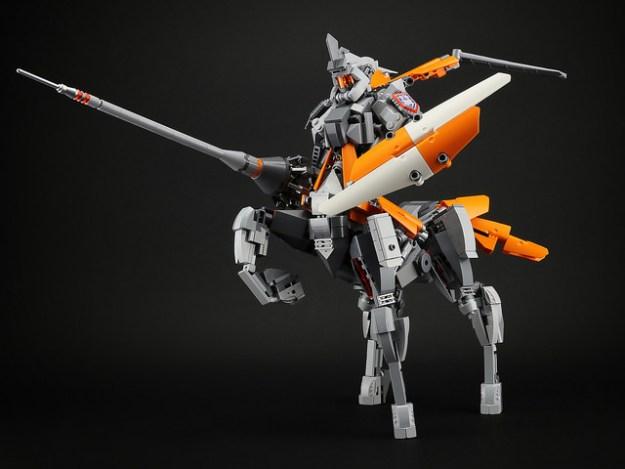 Centaur Knight Mech