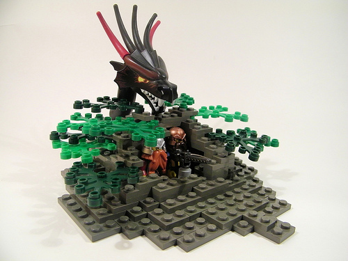 Lego Castle Brickarms