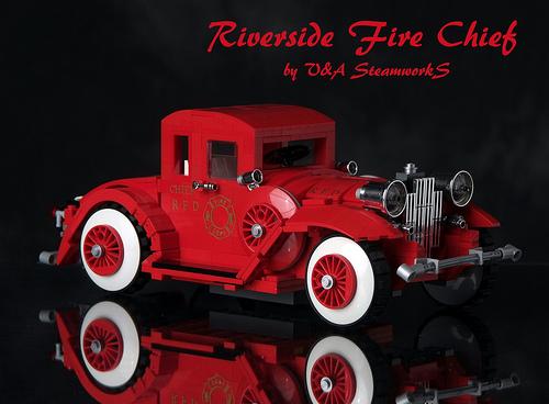 LEGO Fire Chief