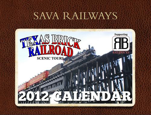 Sava Railways Scenic Tours 2012 LEGO® Train Calendar