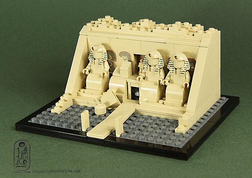 Lego Abu Simbel