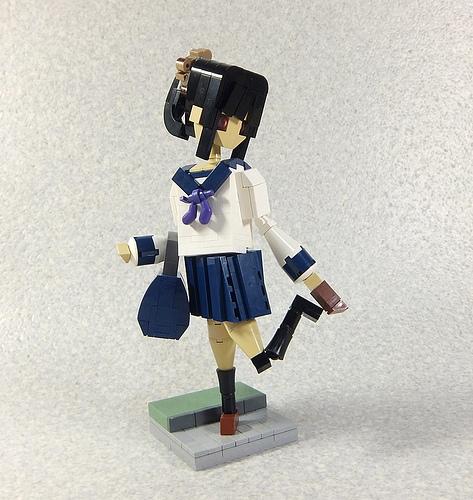 Statue/ High school girl. Part2