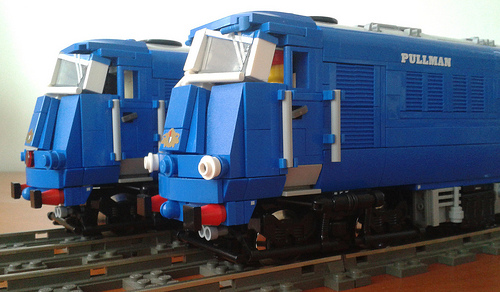 Blue Pullman DMU Engines