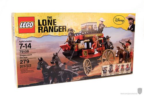 Lone Ranger 79018 Stagecoach Escape