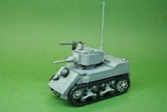 M5A1 Stuart Light Tank (1)