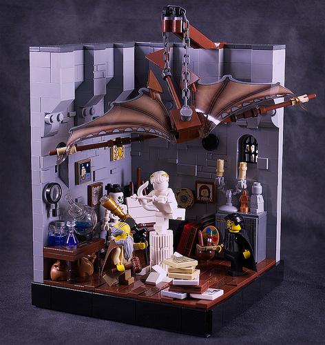 Leonard of Quirm's workshop