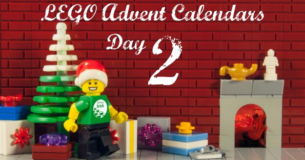 2018 lego advent calendars day 2 the brothers brick. Black Bedroom Furniture Sets. Home Design Ideas