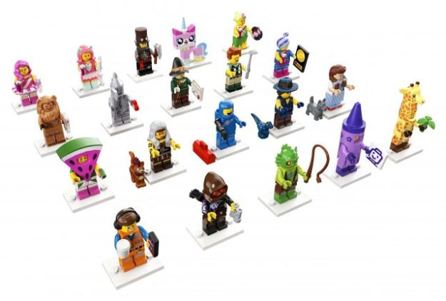 The LEGO Movie 2 Collectible Minifigures series unveiled ...