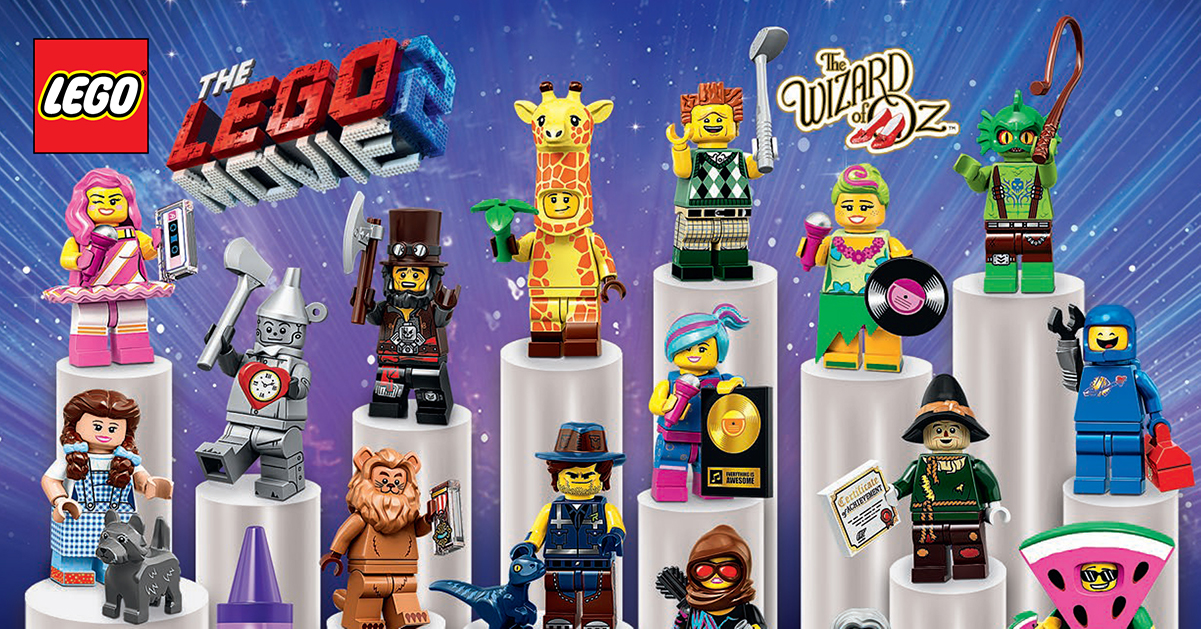 lego collectible minifigures 71023 for the lego movie 2. Black Bedroom Furniture Sets. Home Design Ideas