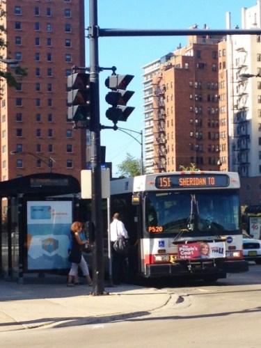 Autobuses de CTA en Chicago. Foto: Joseph Lemon/Metro.