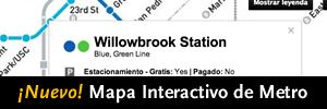 ¡Nuevo! Mapa Interactivo de Metro