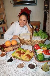 La Chef Julieta Marroquín. (Foto Agustín Durán/El Pasajero).