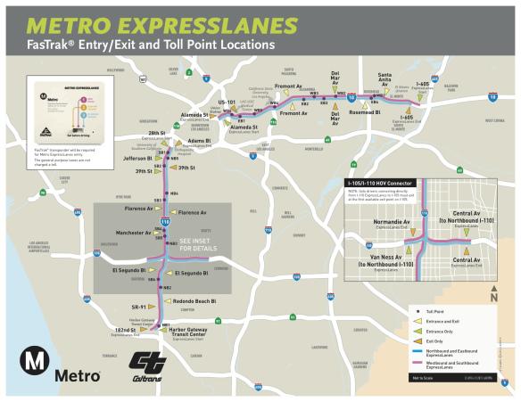 ExpressLanes mapa 10