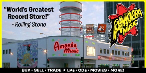 Amoeba está ubicada en 6400 W. Sunset Boulevard, en Los Ángeles. Foto: Amoeba Records.