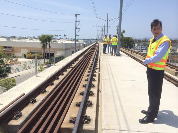 Este fin de semana se instalarán las vías que se usarán en la Fase 2 de  la Línea Expo.